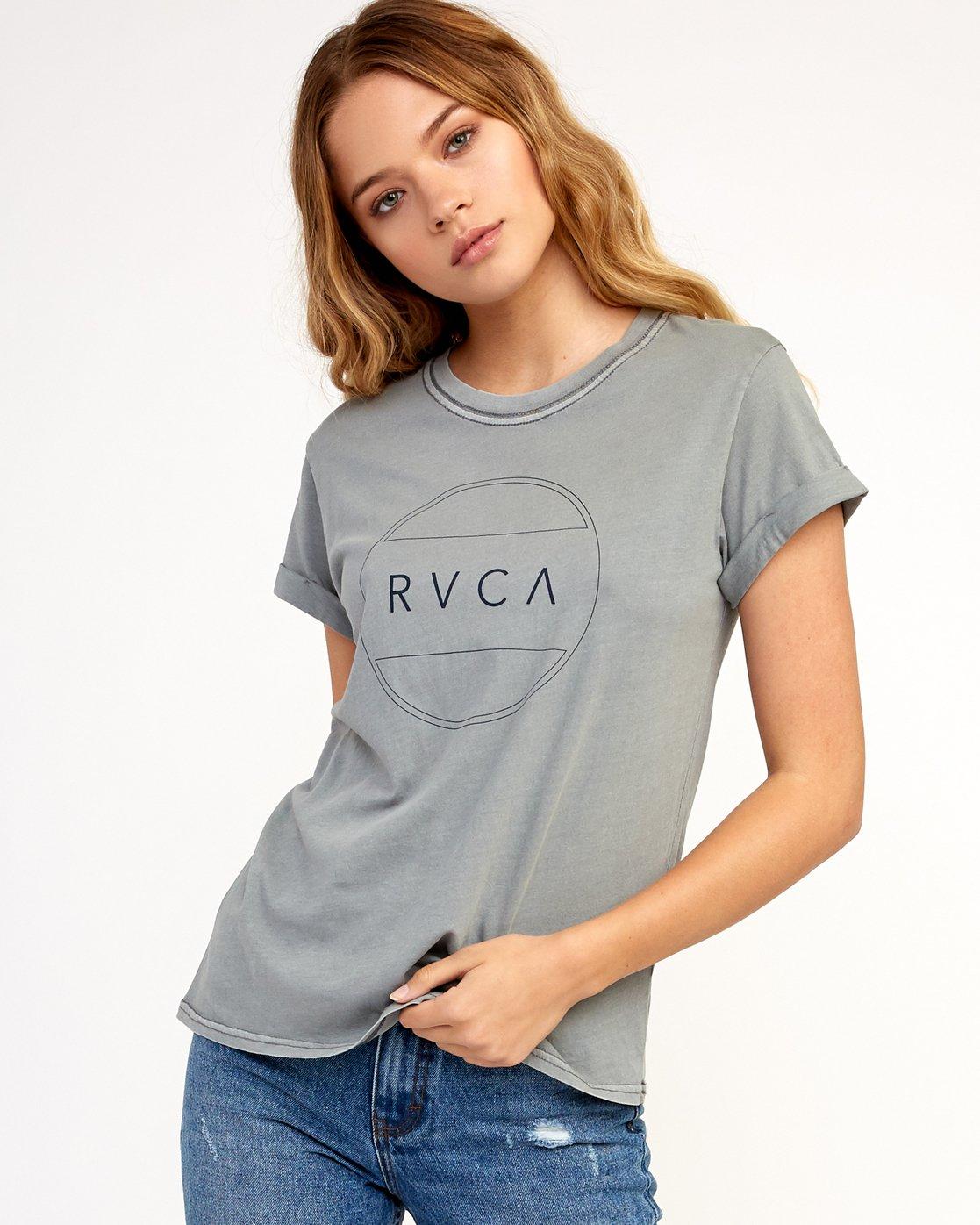 0 Billiard T-Shirt Grey W436TRBI RVCA
