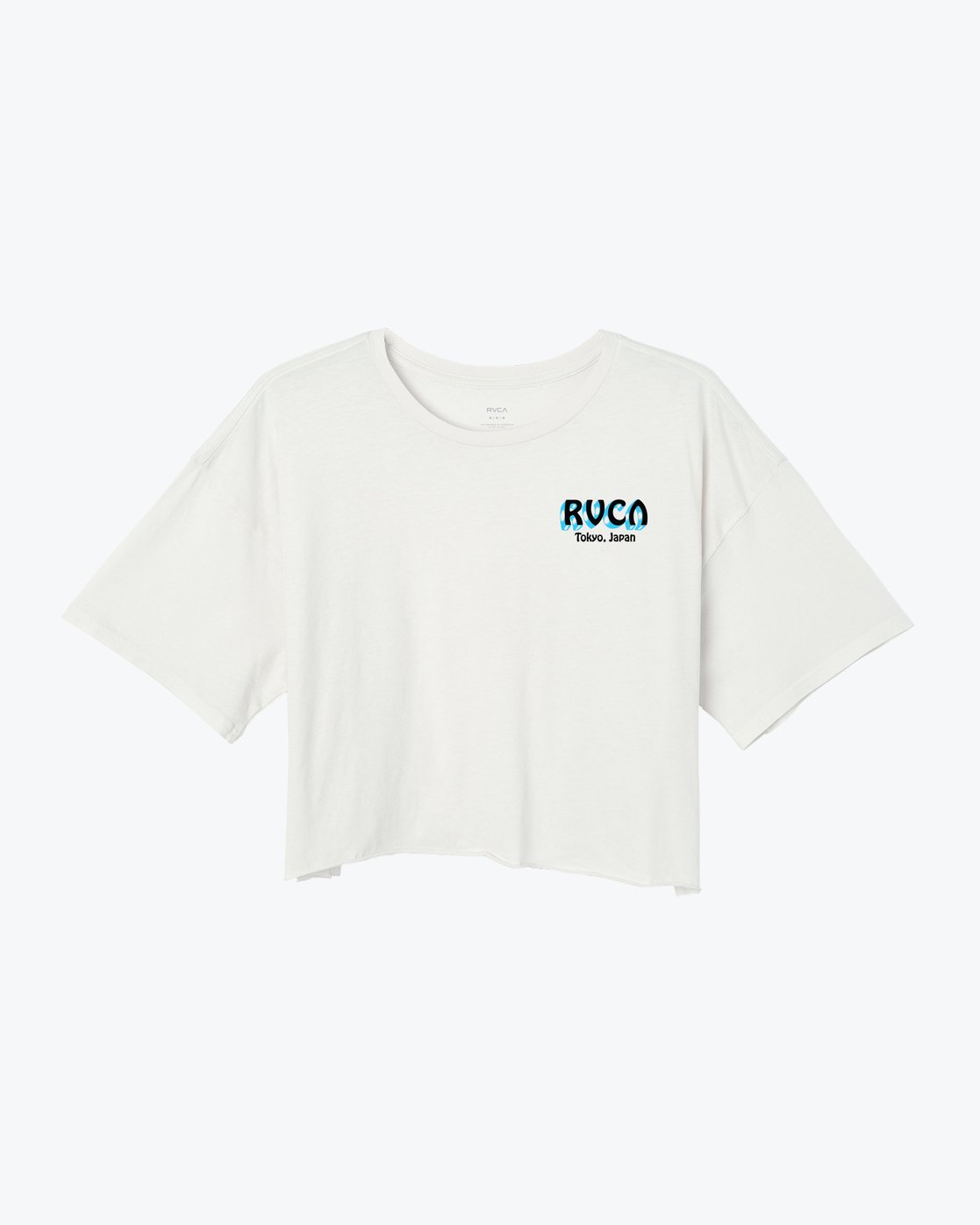 1 Matty's Patty's Tokyo Cropped T-Shirt White W441VRMT RVCA