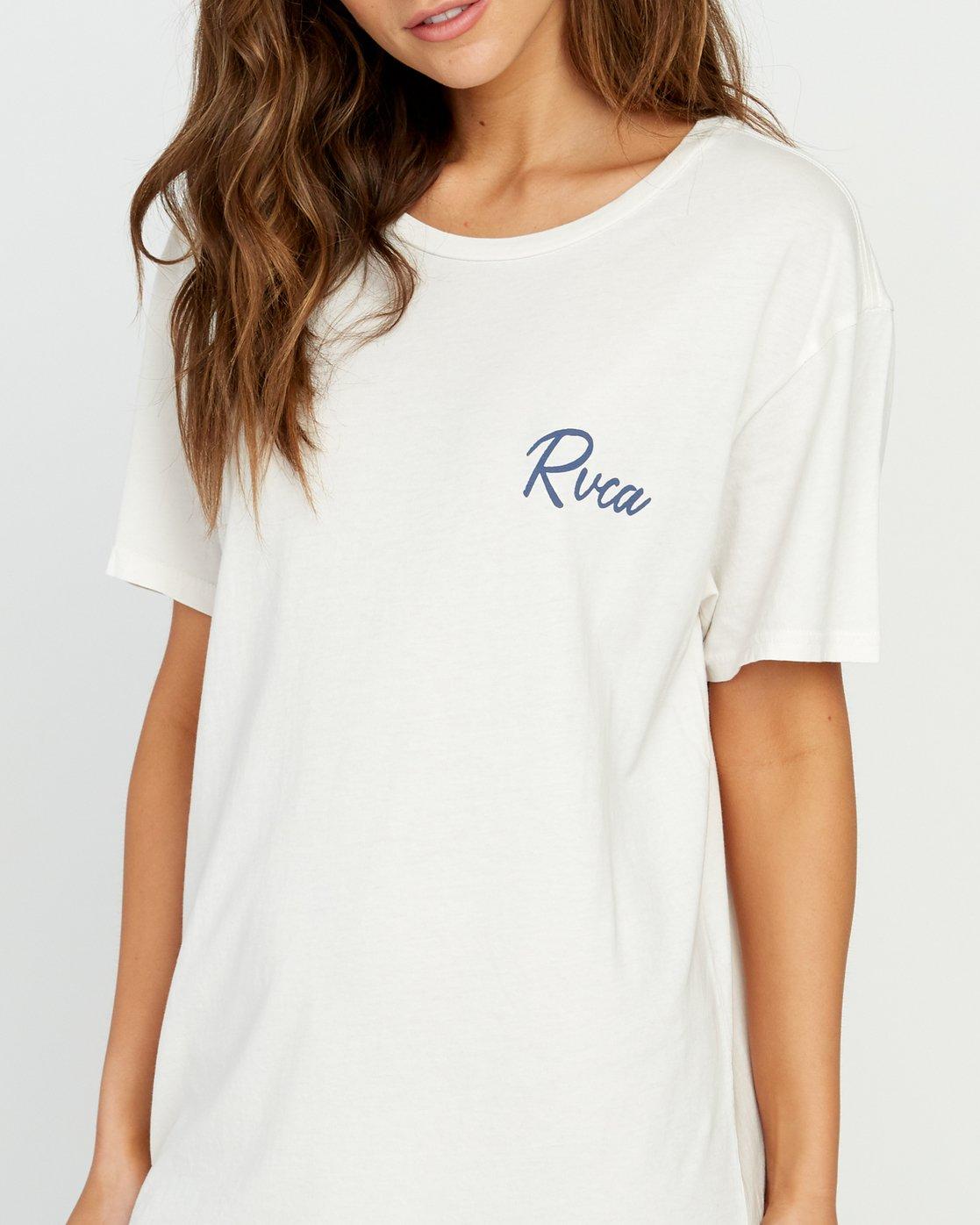 3 Next Wave T-Shirt Dress Grey W442URNE RVCA