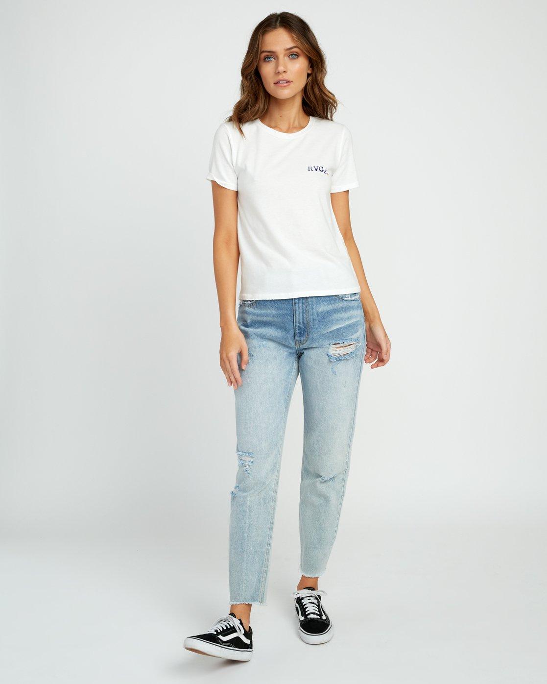 4 Johanna Olk Frosty Gaze Baby T-Shirt White W443URFR RVCA