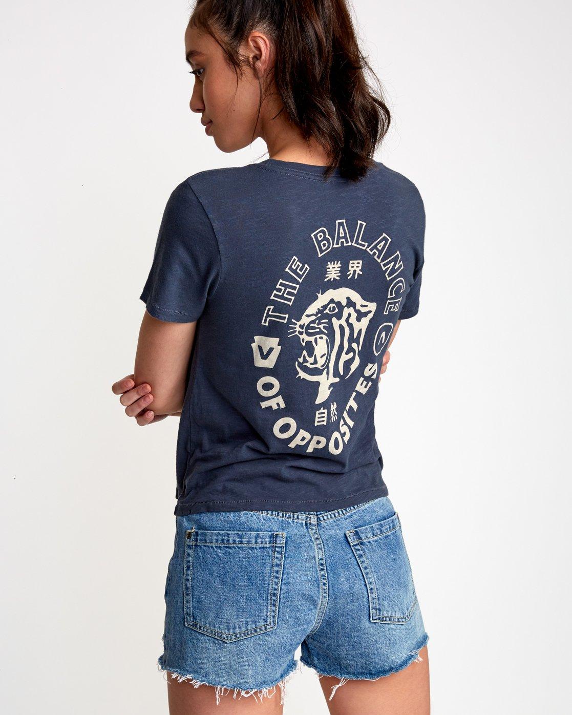 0 Siam Baby T-Shirt Black W443VRSM RVCA