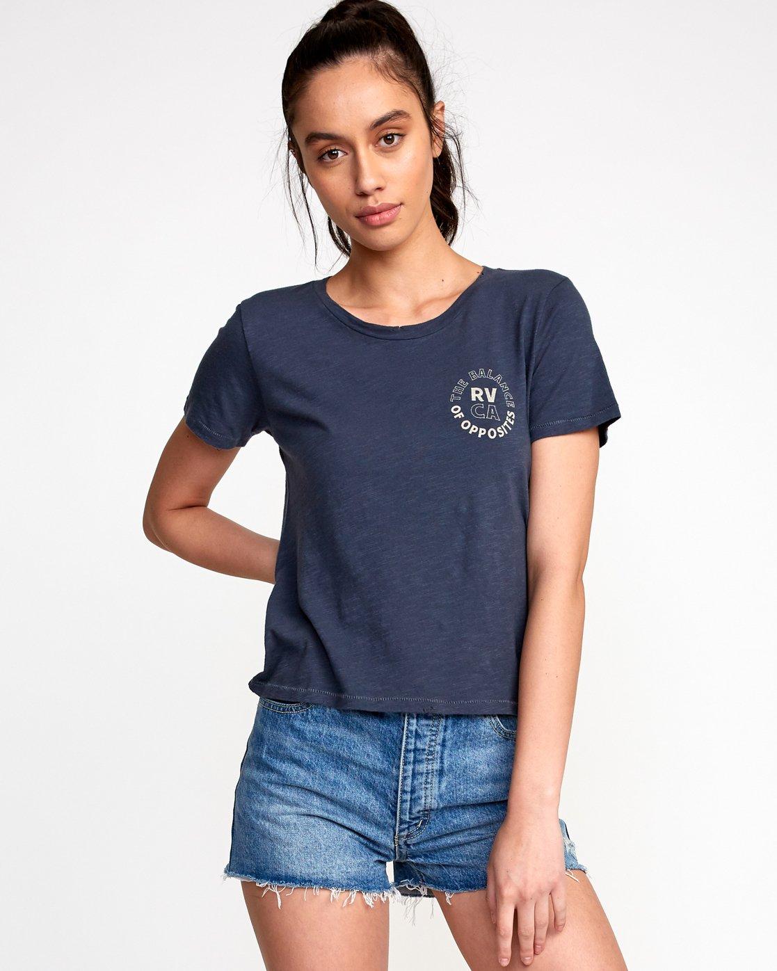 1 Siam Baby T-Shirt Black W443VRSM RVCA