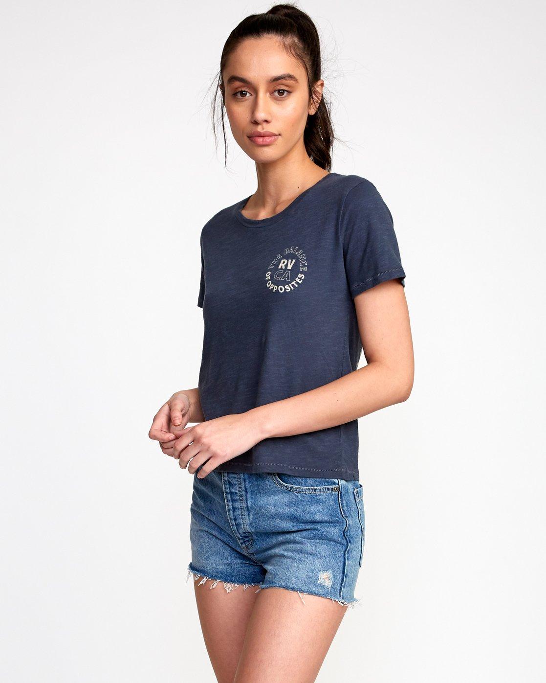 2 Siam Baby T-Shirt Black W443VRSM RVCA