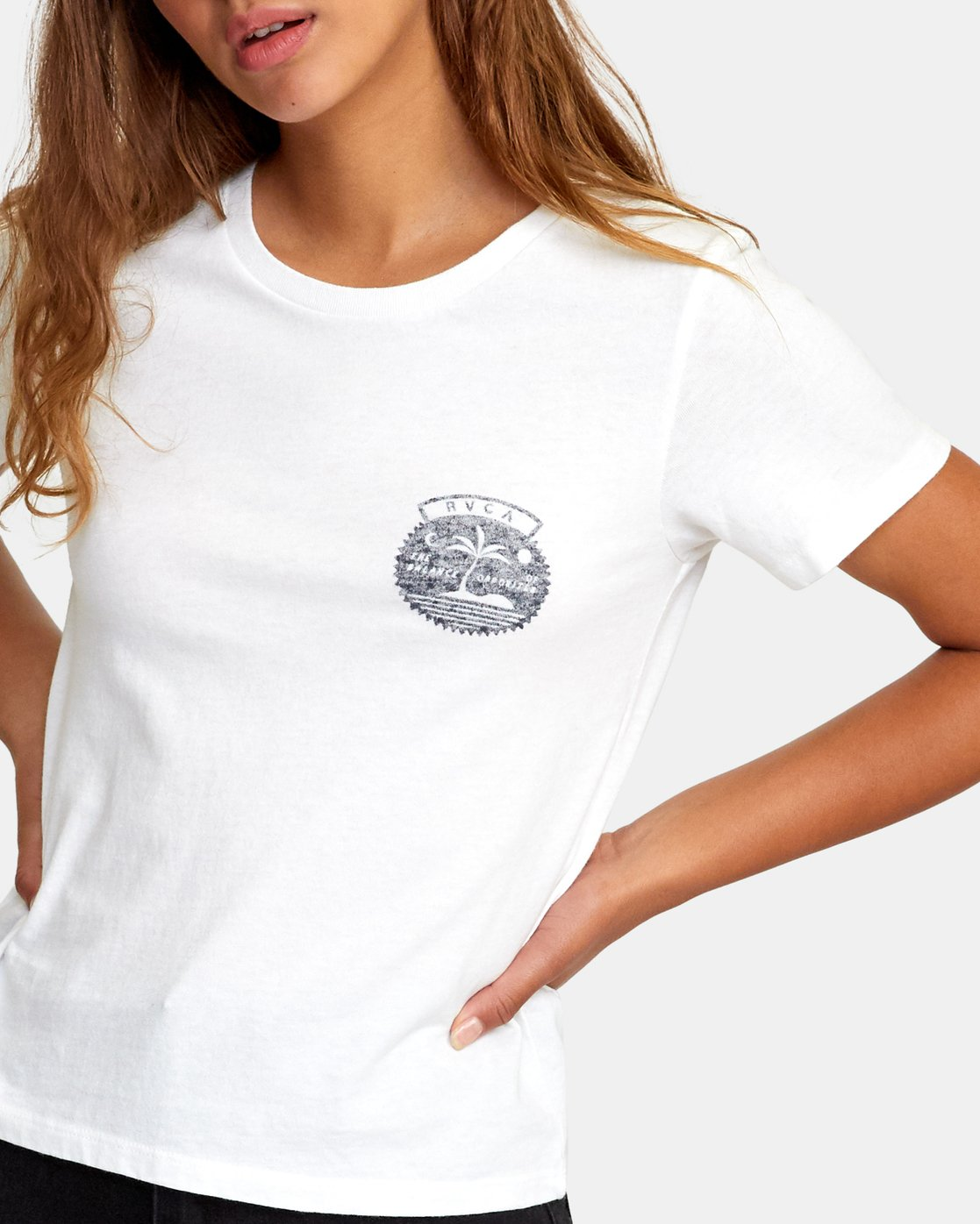 3 Traveler Baby T-Shirt White W447WRTR RVCA