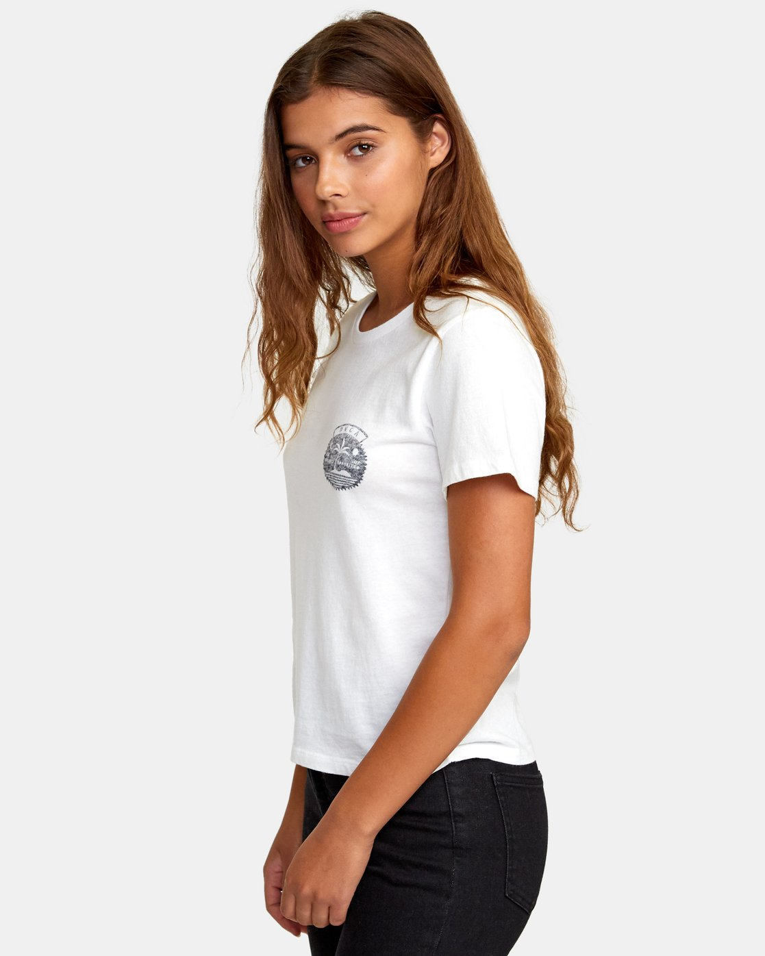 1 Traveler Baby T-Shirt White W447WRTR RVCA