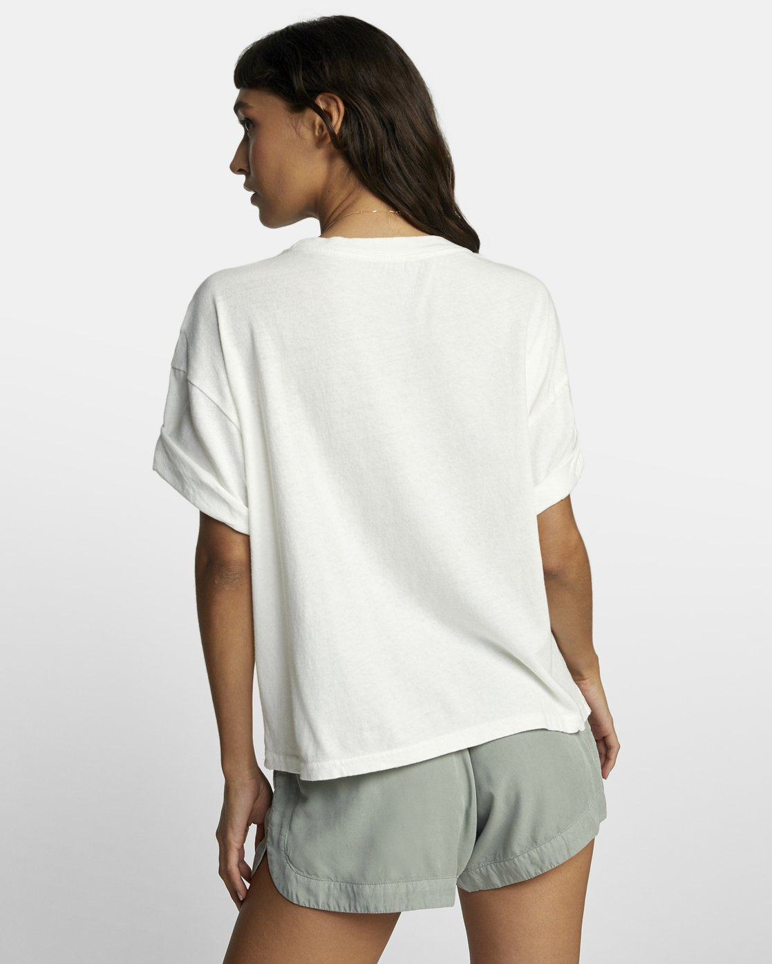 1 BALANCE ROLL IT TEE White W4493RBA RVCA