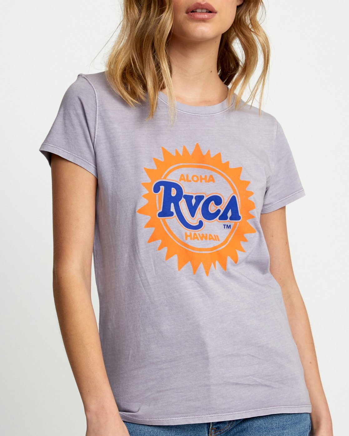 1 SUNBURST ALOHA SHORT SLEEVE T-SHIRT Multicolor W4533RSA RVCA
