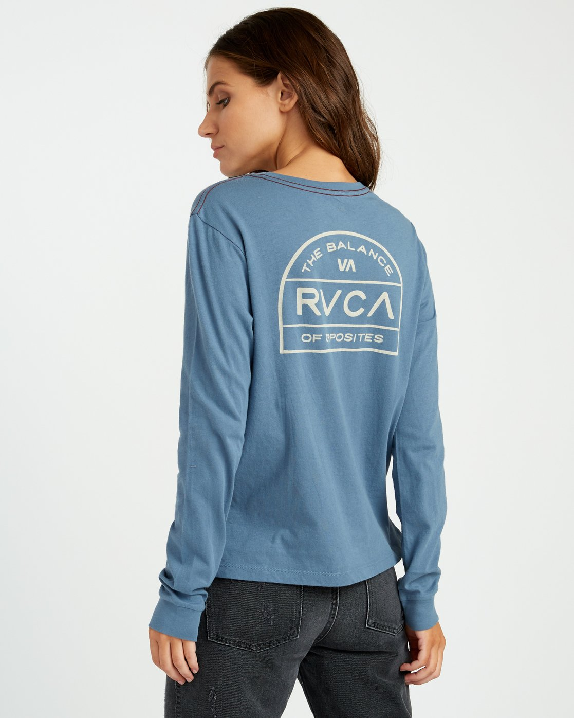 3 Archers Long Sleeve Pocket T-Shirt  W456URAR RVCA