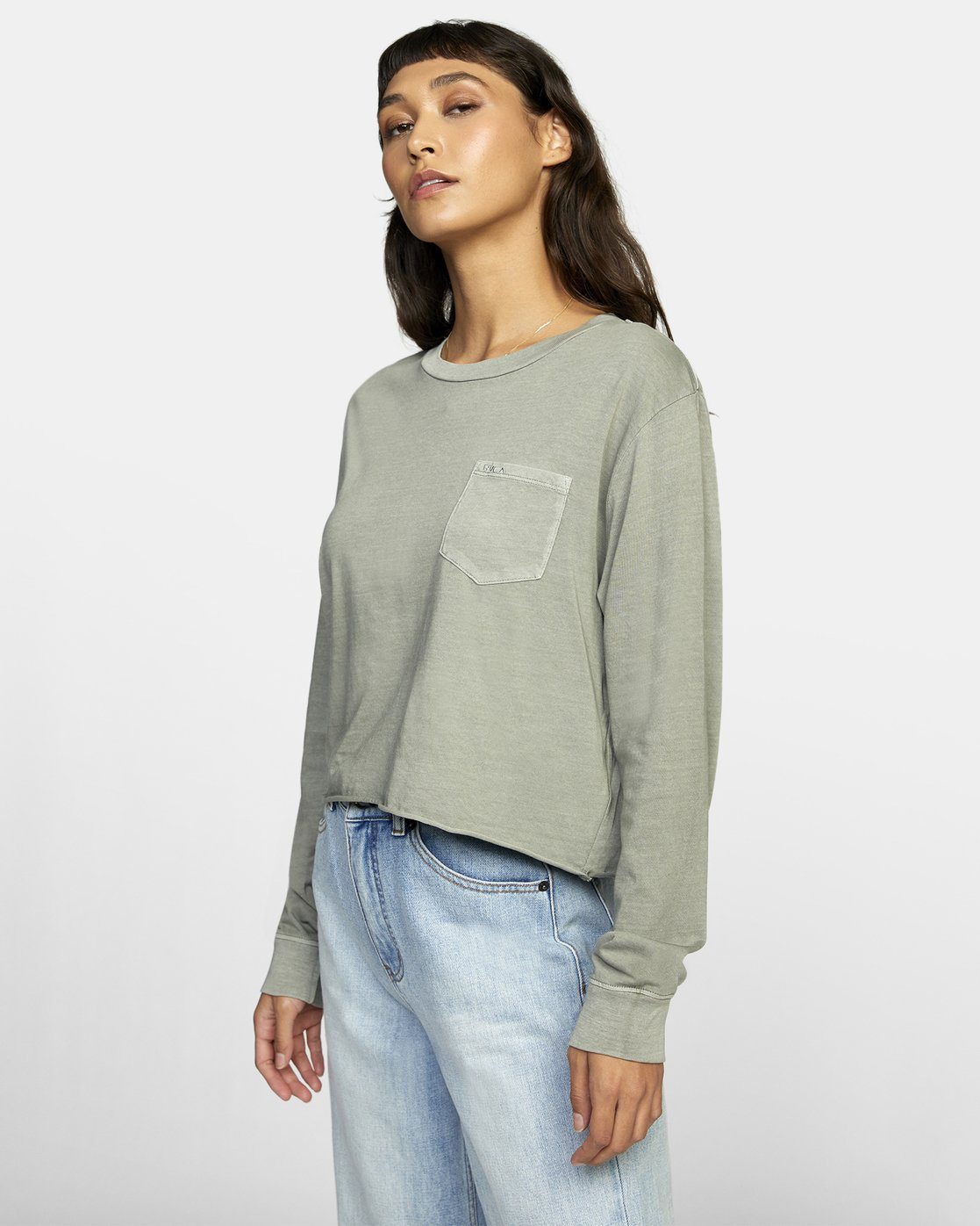 3 PTC LONG SLEEVE BOYFRIEND T-SHIRT  W4673RPT RVCA