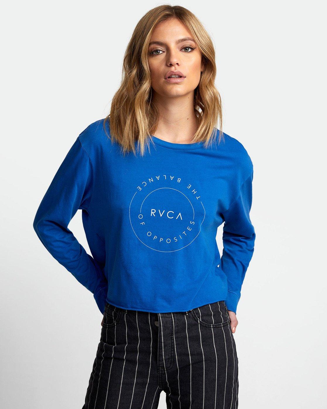 0 Inner Opposites Long Sleeve T-Shirt  W467VRIN RVCA