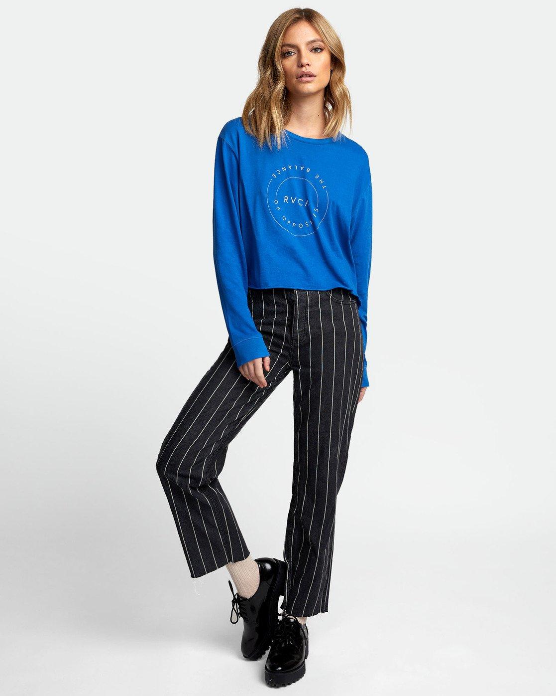 1 Inner Opposites Long Sleeve T-Shirt  W467VRIN RVCA