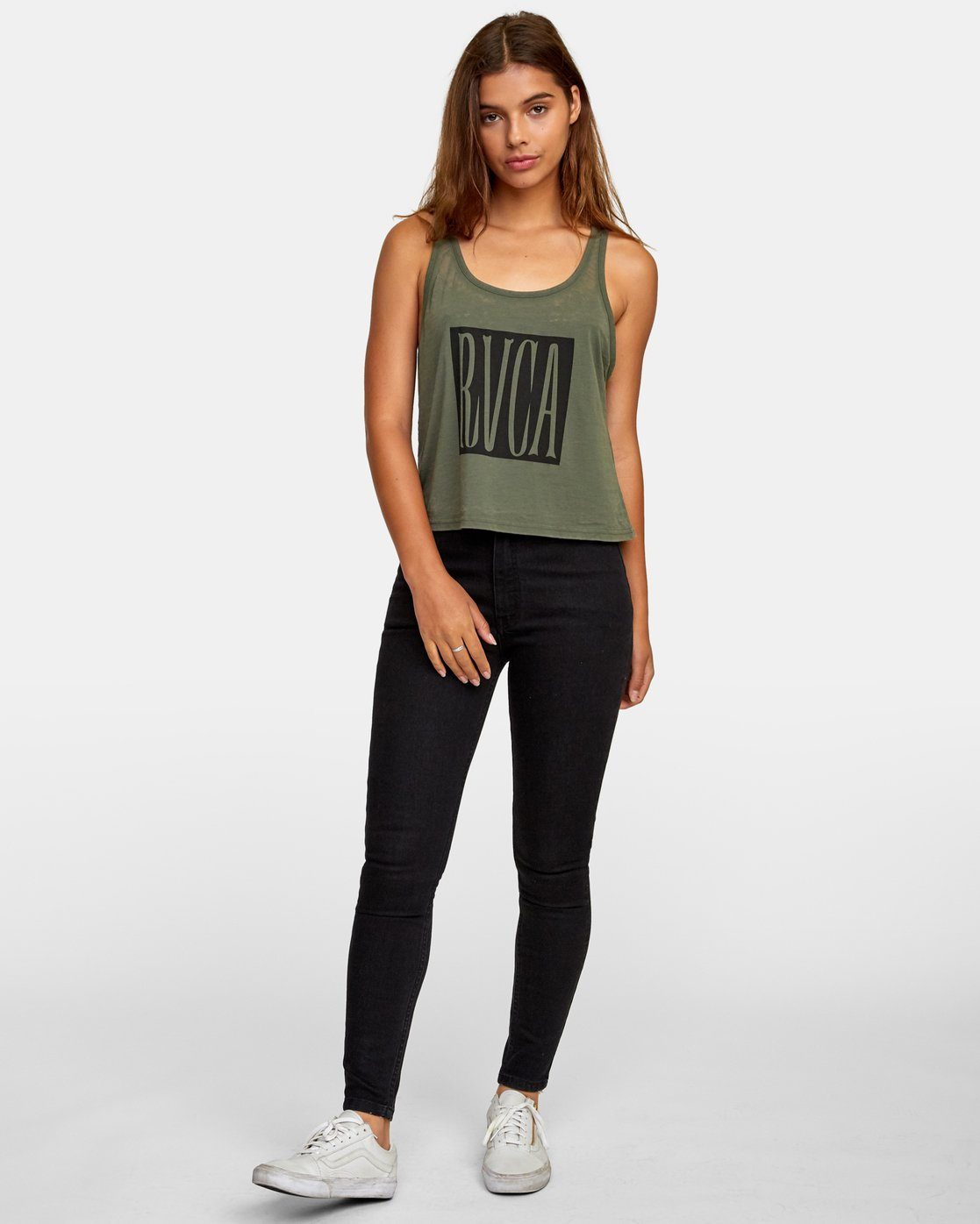 4 Stretched Tank Top  W477WRST RVCA
