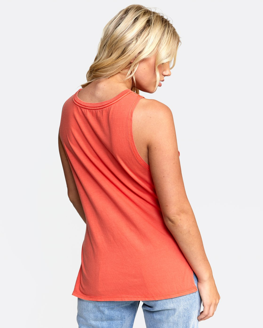 3 OPEN PLAINS TANK Orange W4822ROP RVCA