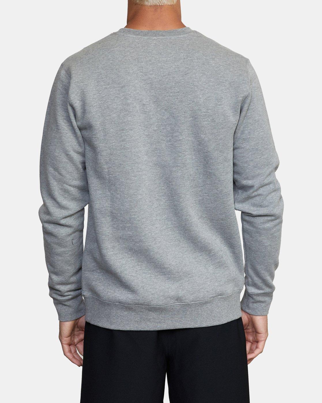 1 VA Sport - Sweatshirt for Men Grey W4CRMARVP1 RVCA