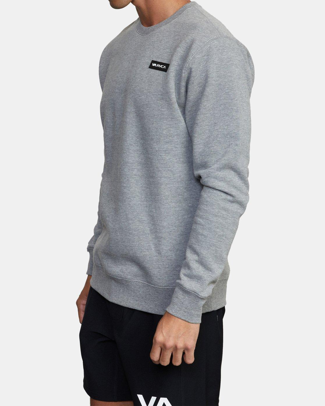 2 VA Sport - Sweatshirt for Men Grey W4CRMARVP1 RVCA
