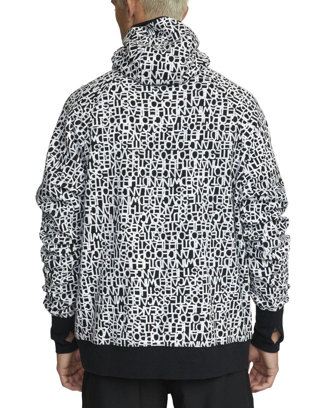 1 Bedwin - Hoodie for Men Black W4HOMERVP1 RVCA
