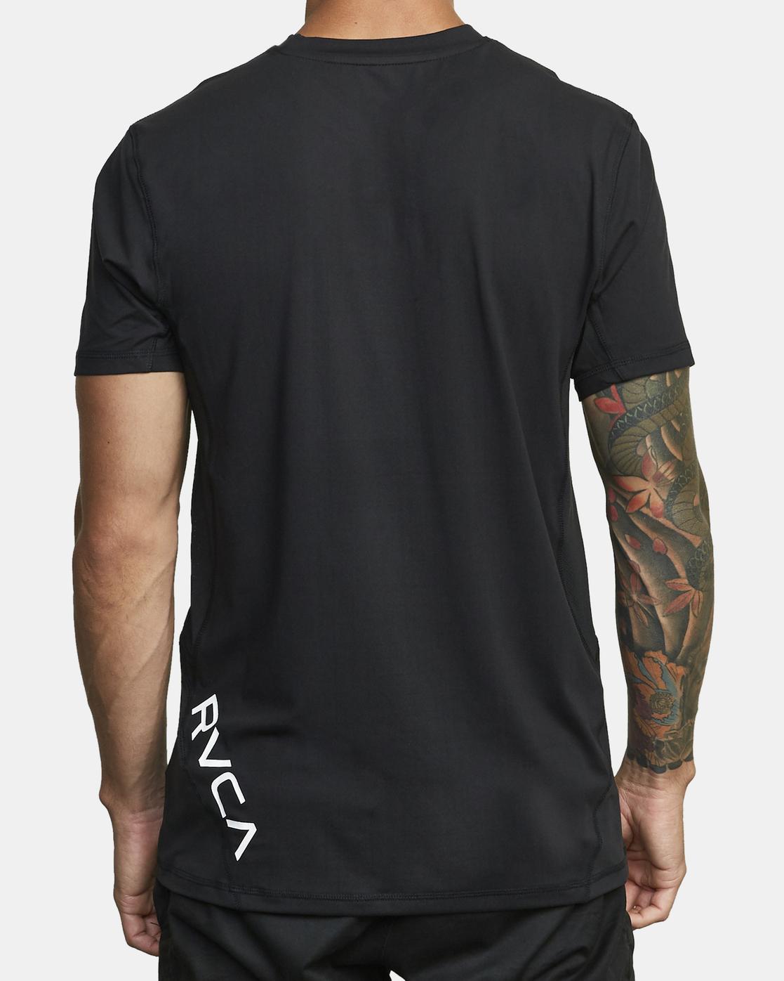 2 Sport Vent - T-shirt pour Homme Noir W4KTMBRVP1 RVCA