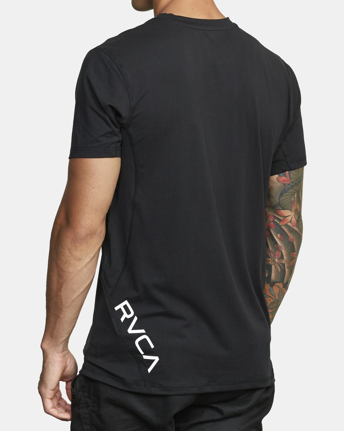 4 Sport Vent - T-shirt pour Homme Noir W4KTMBRVP1 RVCA
