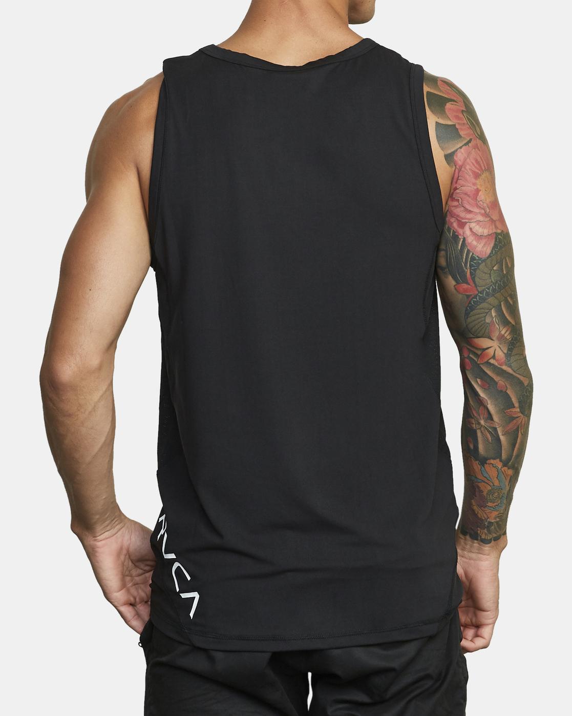 3 Sport Vent - T-shirt sans manches pour Homme Noir W4KTMCRVP1 RVCA