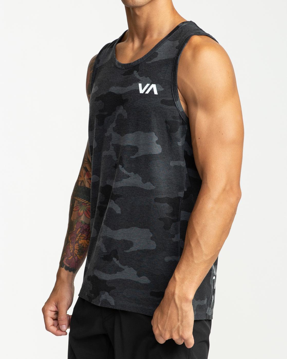 4 Sport Vent - T-shirt sans manches pour Homme Camo W4KTMCRVP1 RVCA