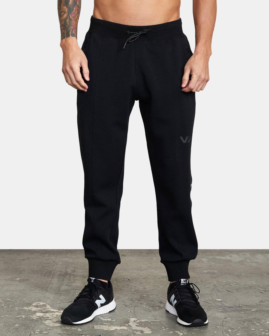 0 VA Sport Tech - Pantalon de jogging pour Homme Noir W4PTMCRVP1 RVCA