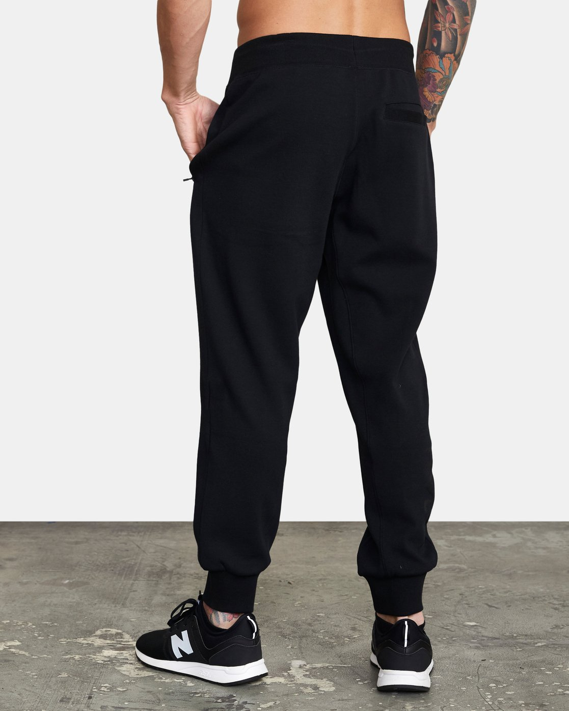 3 VA Sport Tech - Pantalon de jogging pour Homme Noir W4PTMCRVP1 RVCA