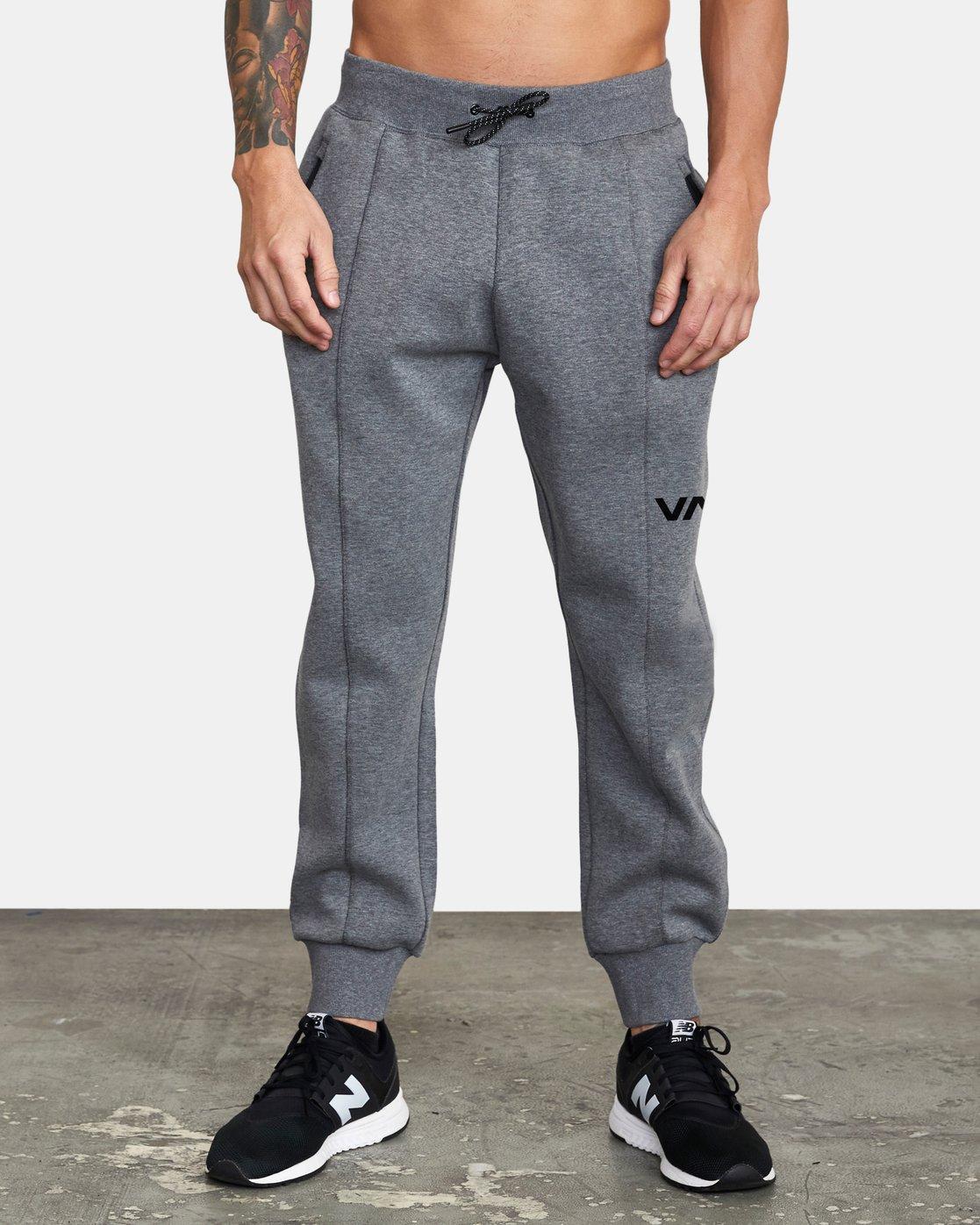 0 VA Sport Tech - Pantalon de jogging pour Homme Gris W4PTMCRVP1 RVCA