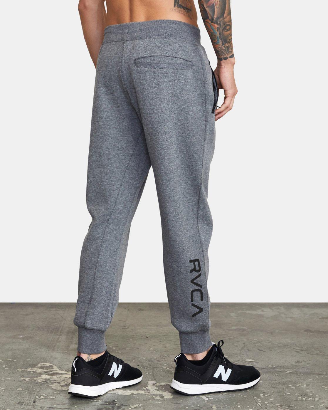 4 VA Sport Tech - Pantalon de jogging pour Homme Gris W4PTMCRVP1 RVCA