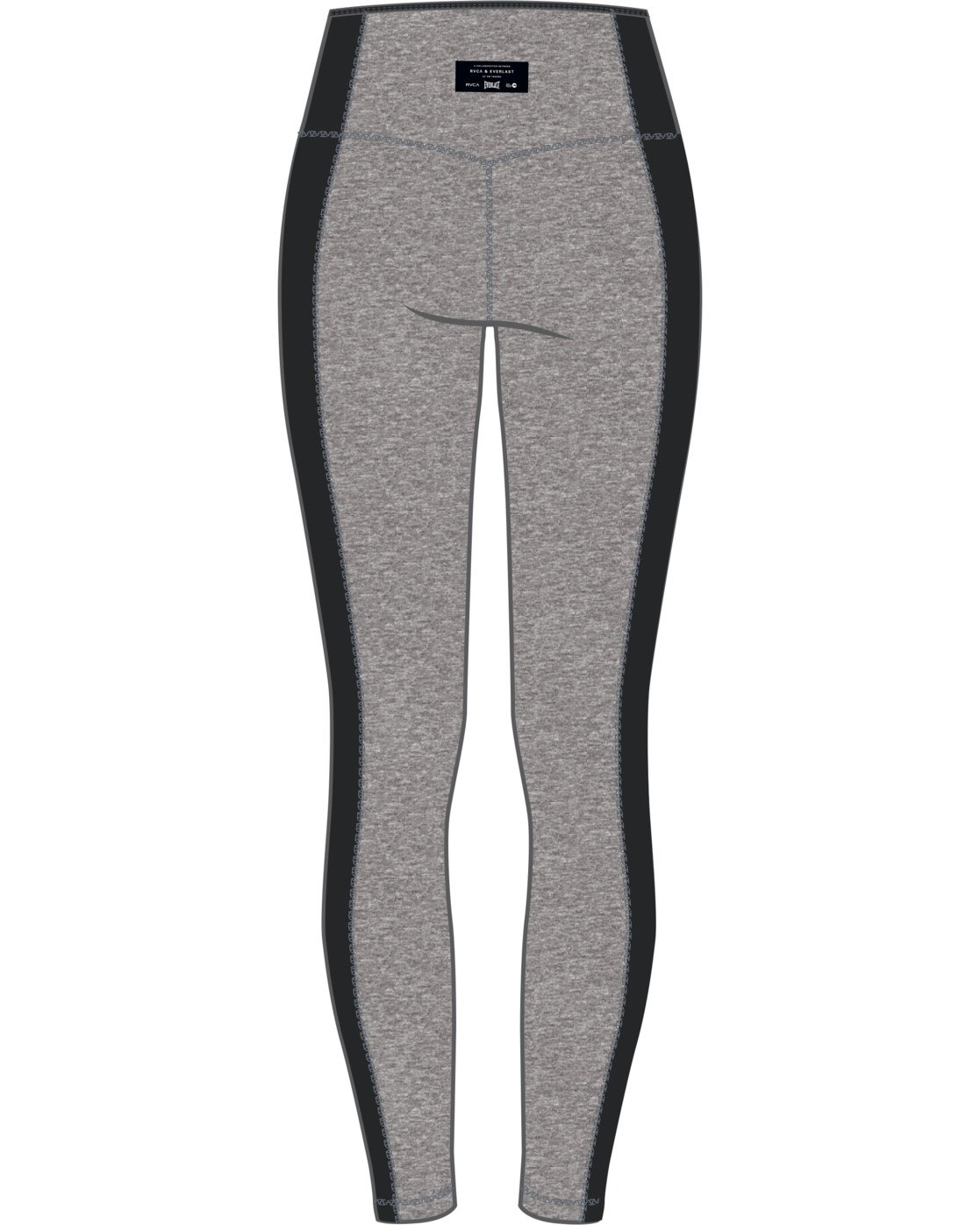 8 Everlast x RVCA Lace Up - High Waist Sports Leggings for Women Grey W4PTWDRVP1 RVCA