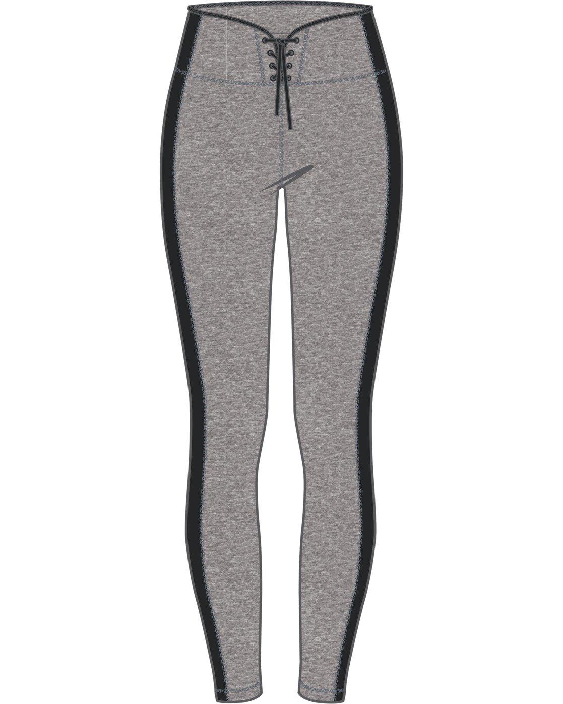 7 Everlast x RVCA Lace Up - High Waist Sports Leggings for Women Grey W4PTWDRVP1 RVCA
