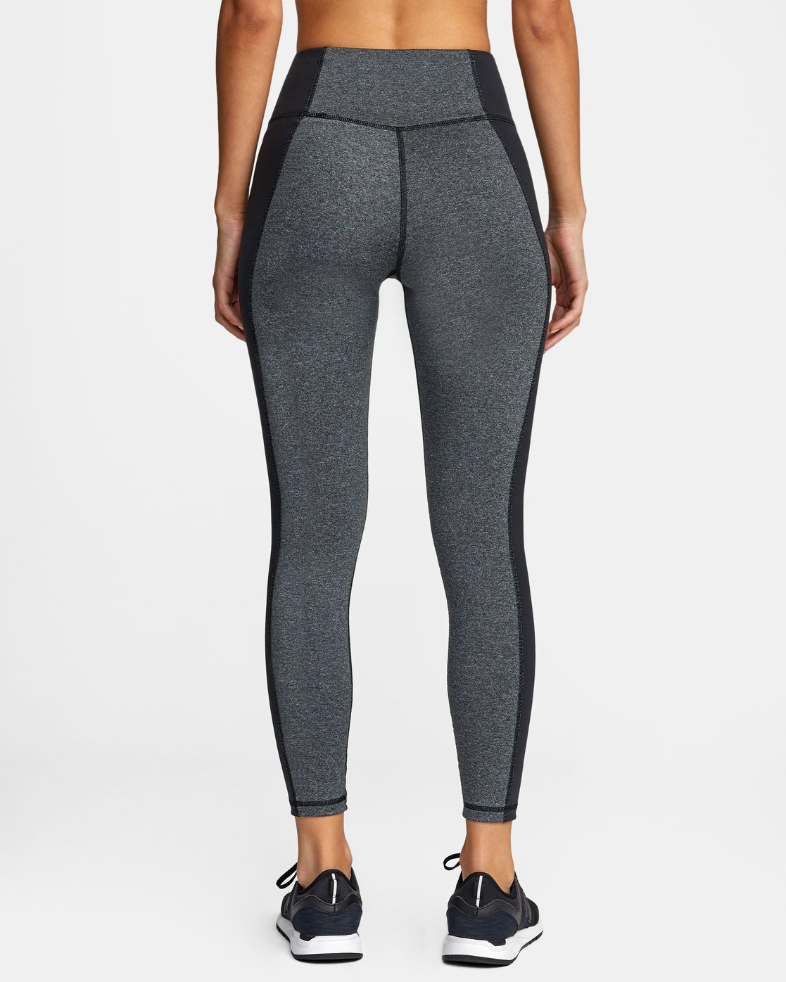 1 Everlast x RVCA Lace Up - High Waist Sports Leggings for Women Grey W4PTWDRVP1 RVCA
