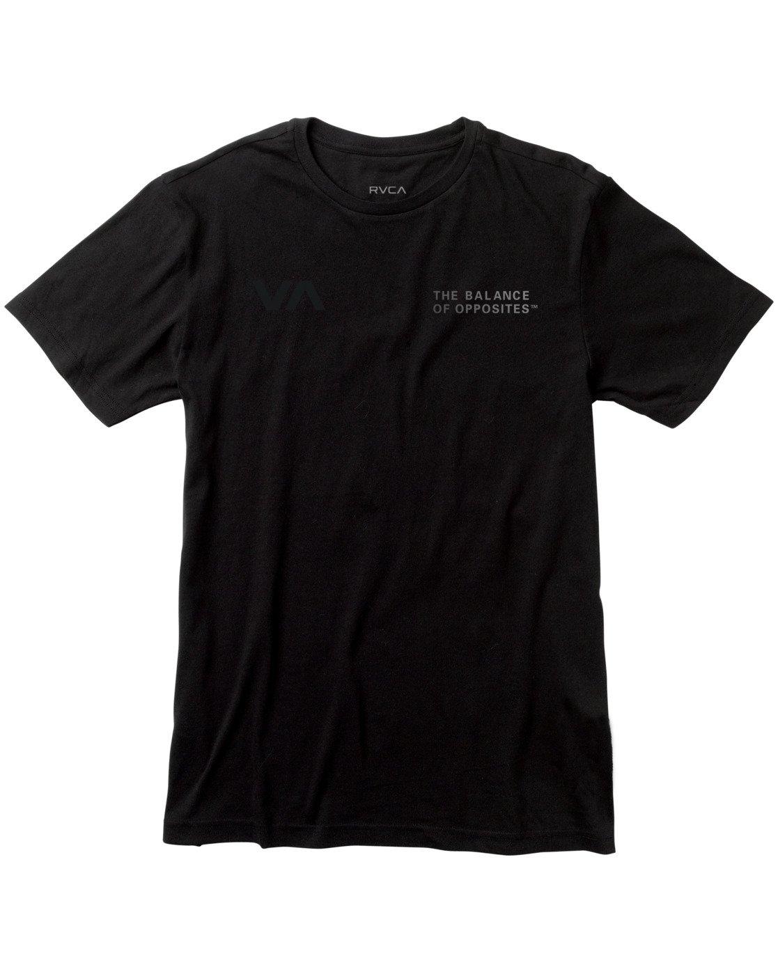 0 VA Sport Glory - T-Shirt for Men Black W4SSMBRVP1 RVCA