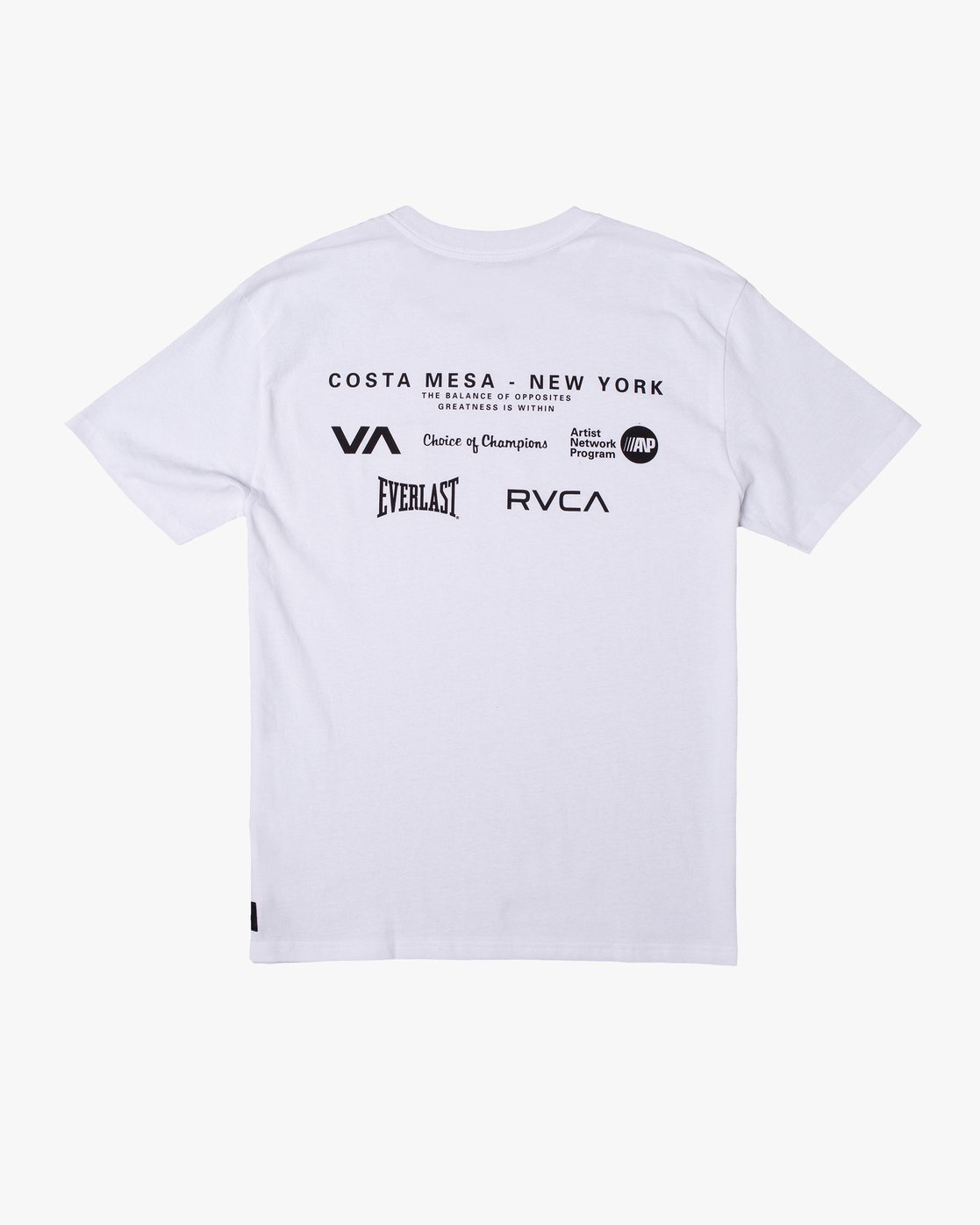 1 Everlast x RVCA - T-Shirt for Men White W4SSMJRVP1 RVCA