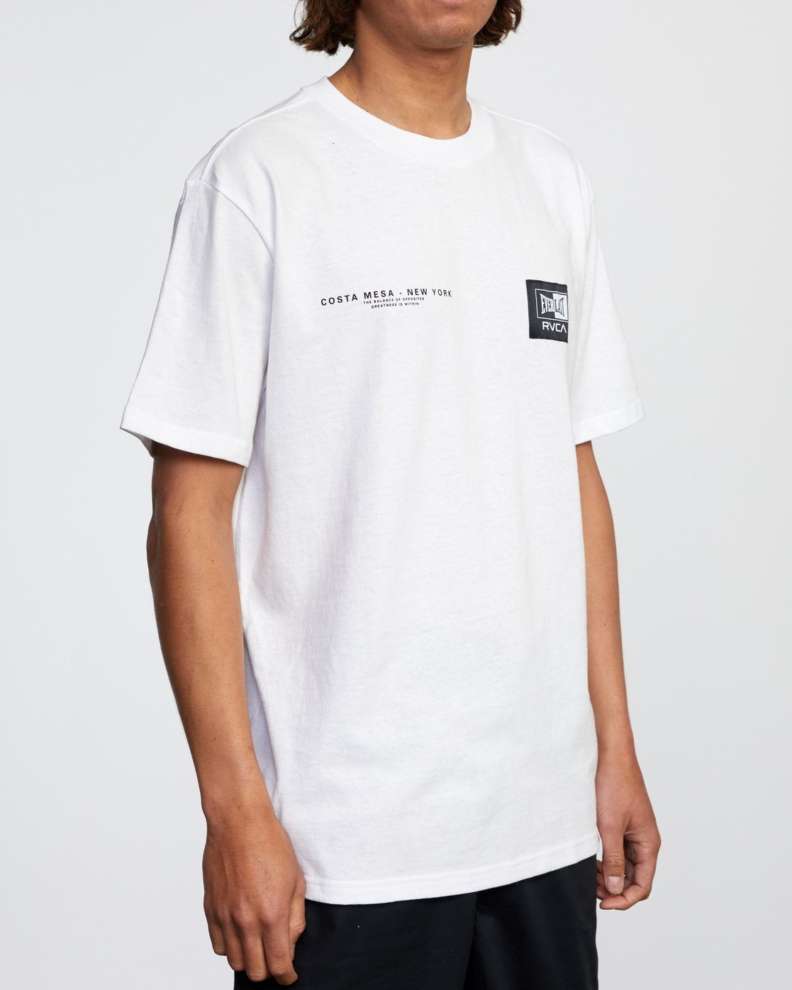 6 Everlast x RVCA - T-Shirt for Men White W4SSMJRVP1 RVCA
