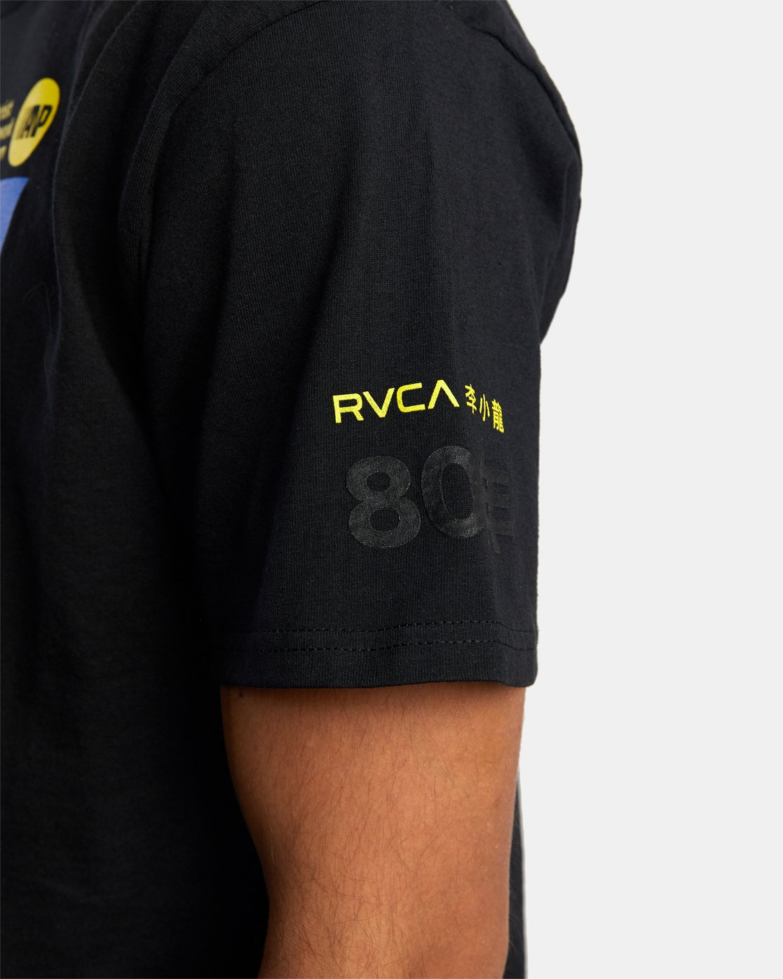 5 Bruce Lee As You Think - T-Shirt for Men Black W4SSMORVP1 RVCA