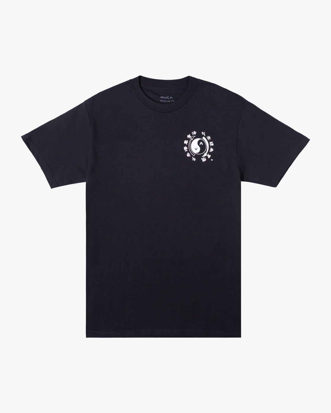 0 Bruce Lee Eighty Years - T-Shirt for Men Black W4SSMPRVP1 RVCA