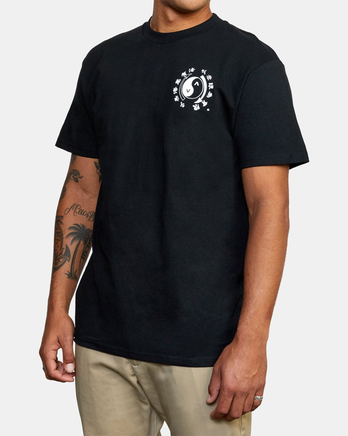 5 Bruce Lee Eighty Years - T-Shirt for Men Black W4SSMPRVP1 RVCA
