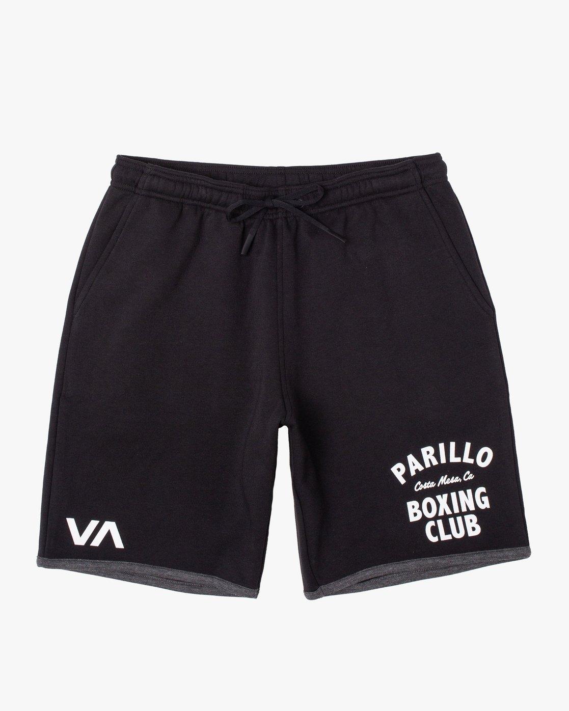 "0 VA Sport Parillo - Sport Shorts 17"" for Men Black W4WKMNRVP1 RVCA"