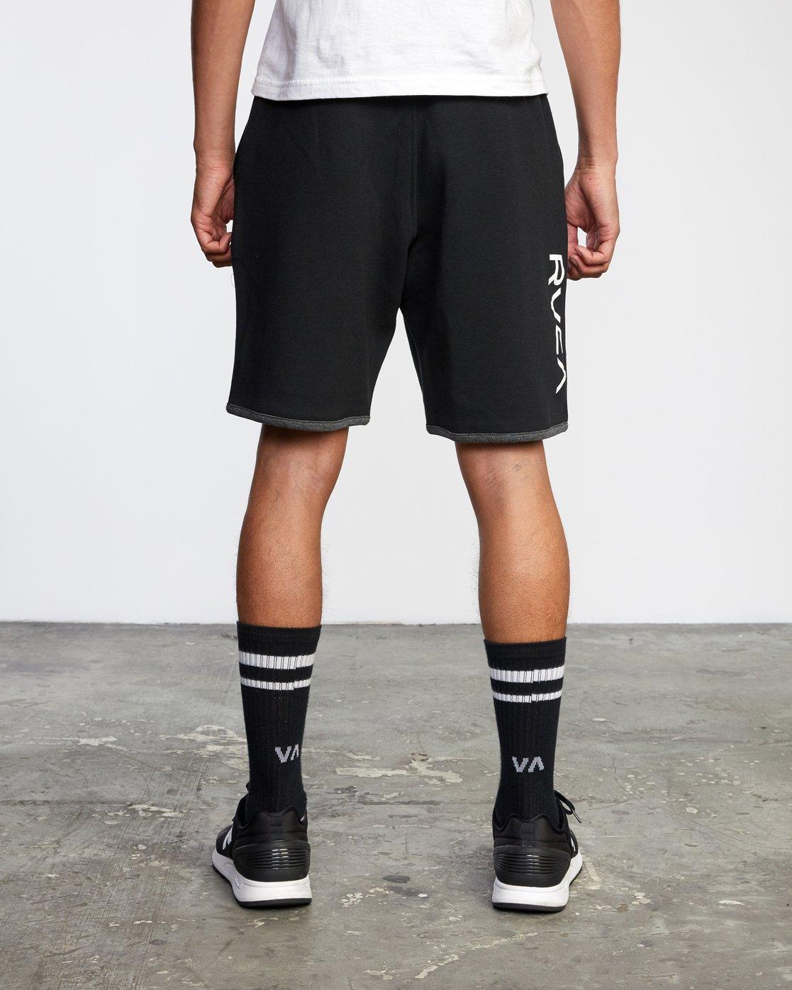 "2 VA Sport Parillo - Sport Shorts 17"" for Men Black W4WKMNRVP1 RVCA"