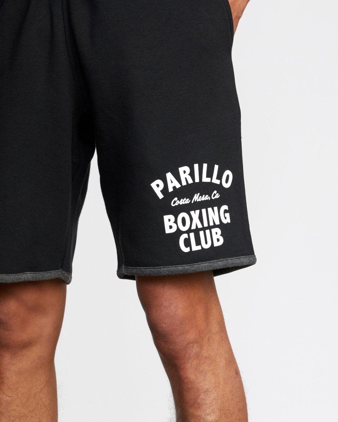 "3 VA Sport Parillo - Sport Shorts 17"" for Men Black W4WKMNRVP1 RVCA"