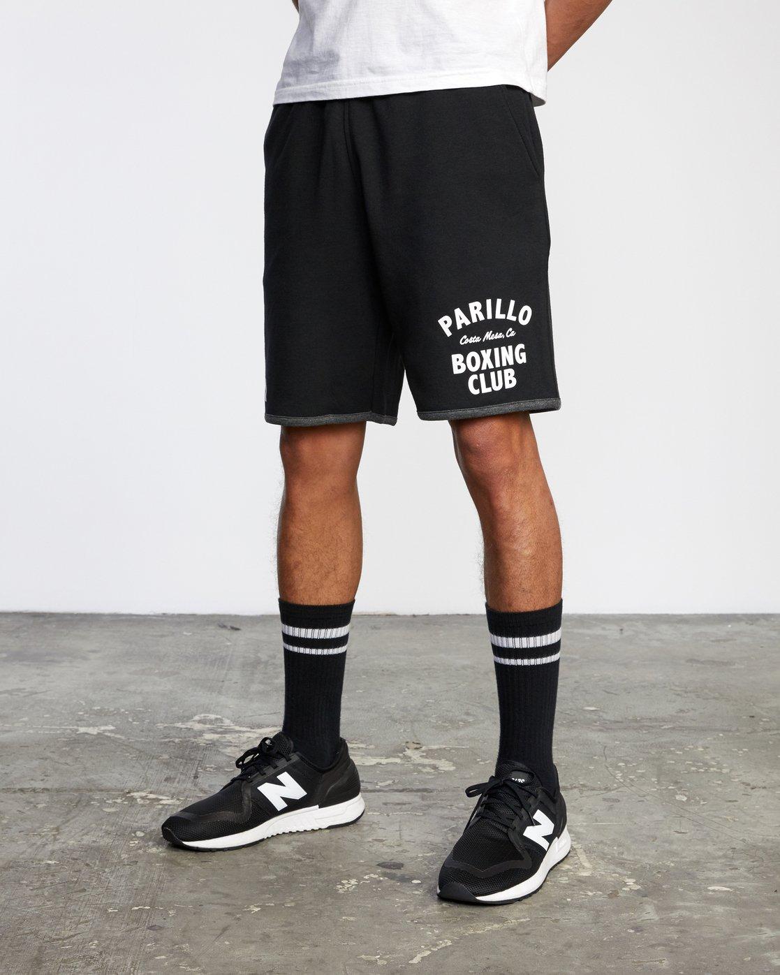 "4 VA Sport Parillo - Sport Shorts 17"" for Men Black W4WKMNRVP1 RVCA"