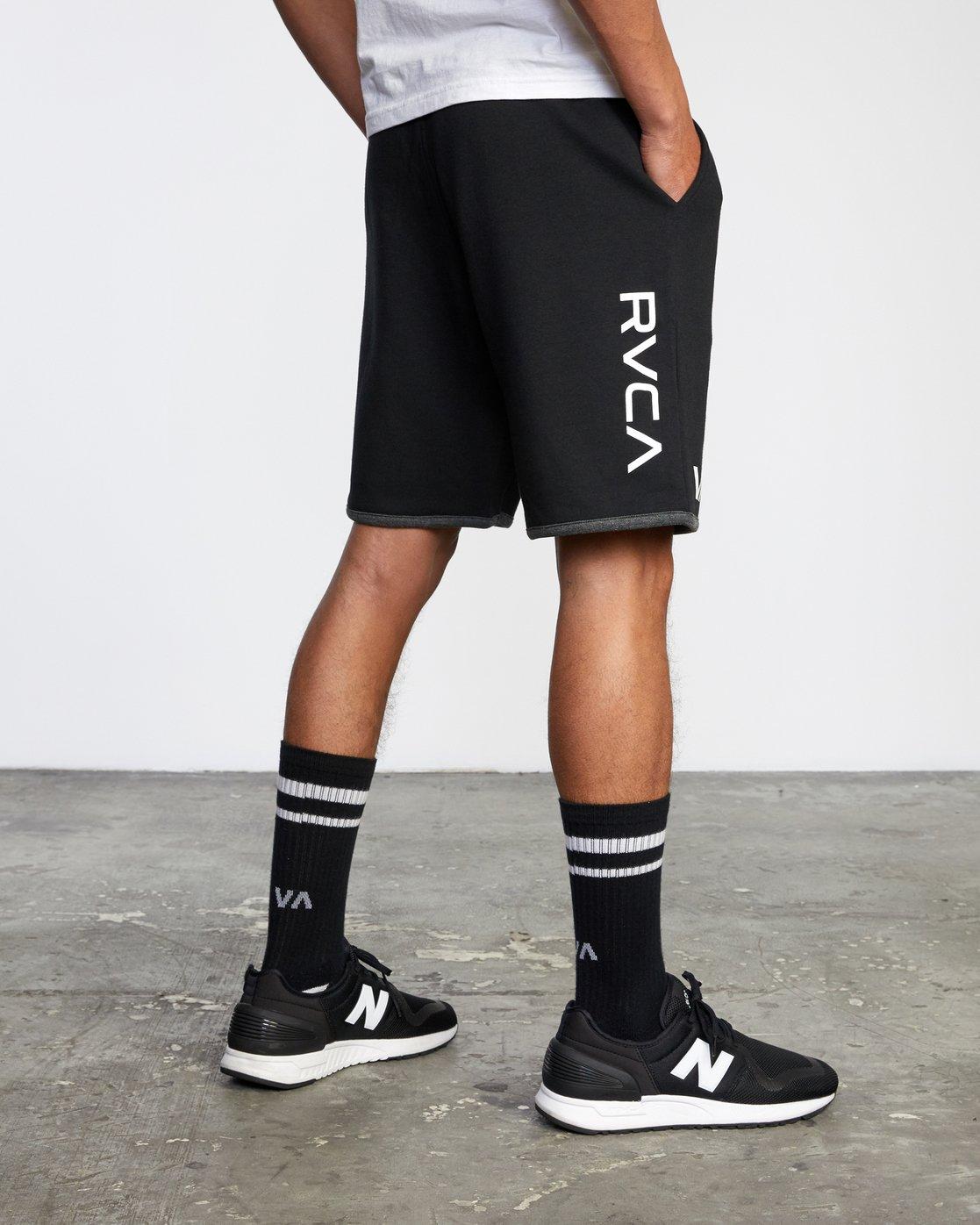 "5 VA Sport Parillo - Sport Shorts 17"" for Men Black W4WKMNRVP1 RVCA"