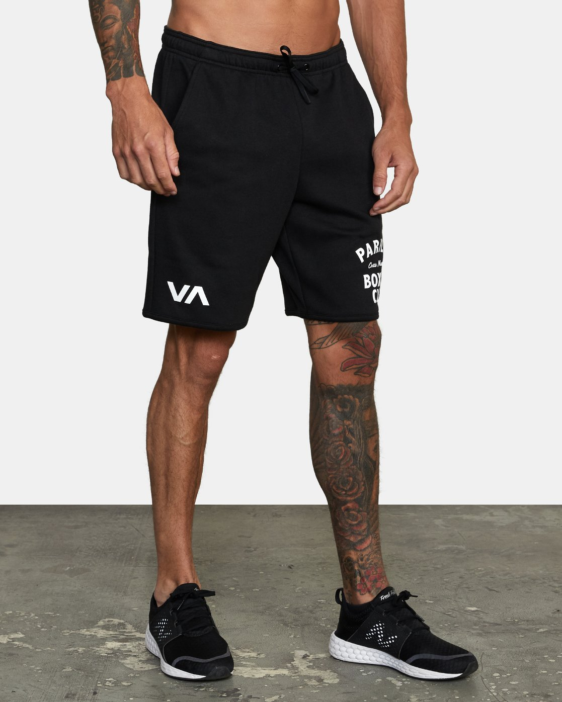 "7 VA Sport Parillo - Sport Shorts 17"" for Men Black W4WKMNRVP1 RVCA"