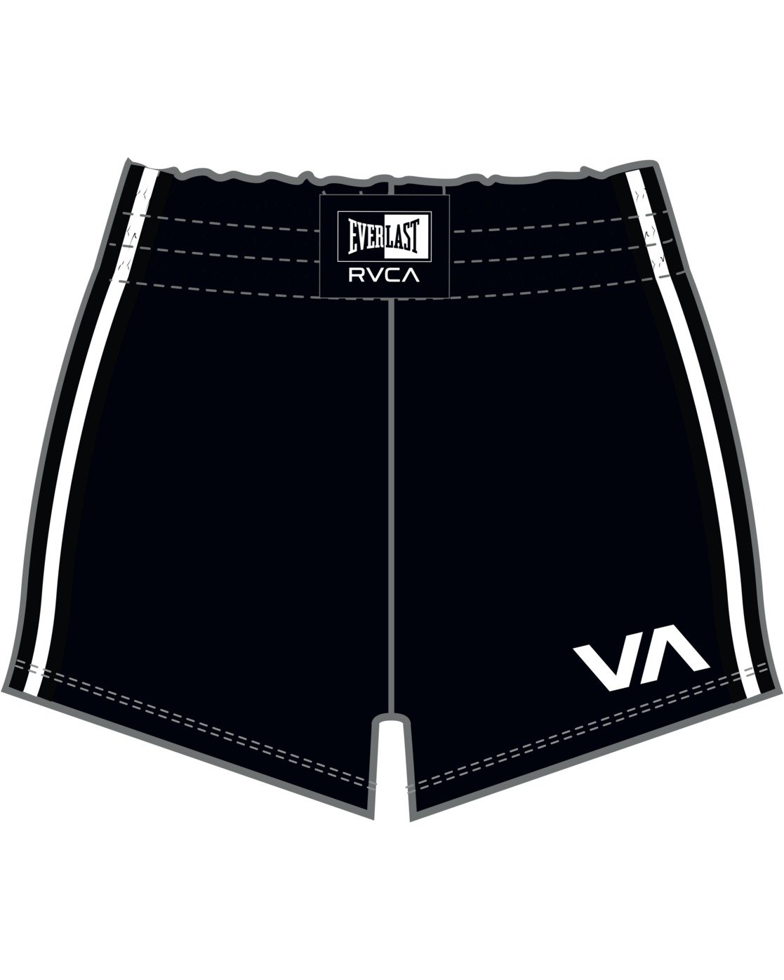 8 Everlast x RVCA - Sweat Shorts for Women Black W4WKWBRVP1 RVCA