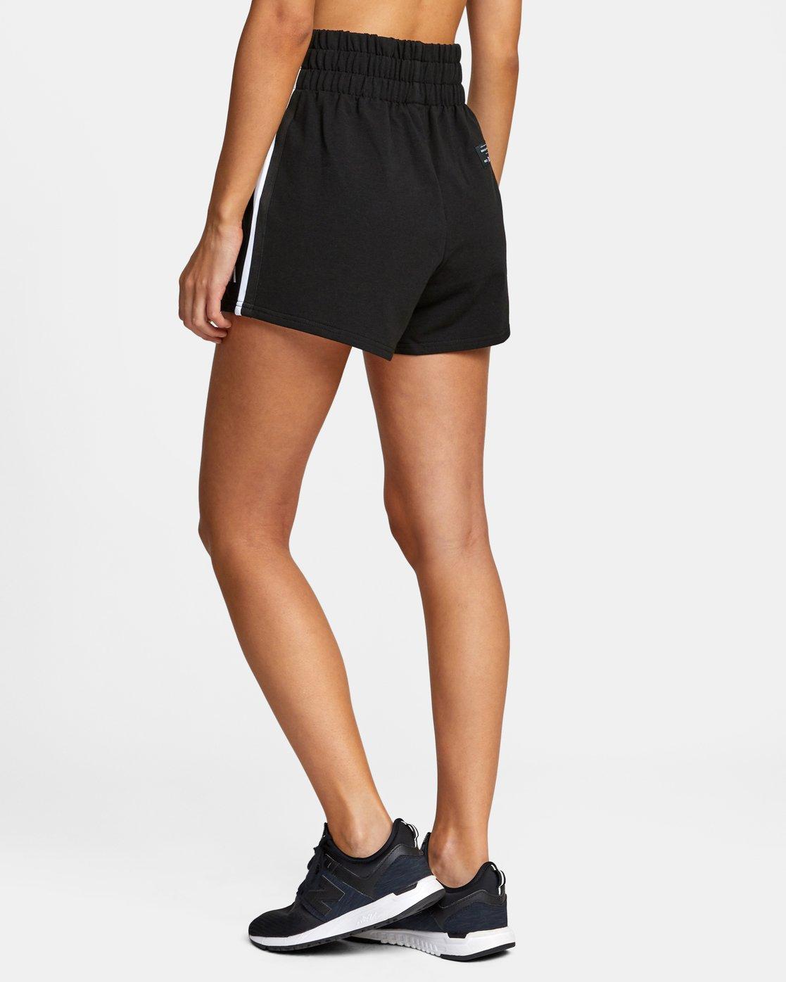 5 Everlast x RVCA - Sweat Shorts for Women Black W4WKWBRVP1 RVCA