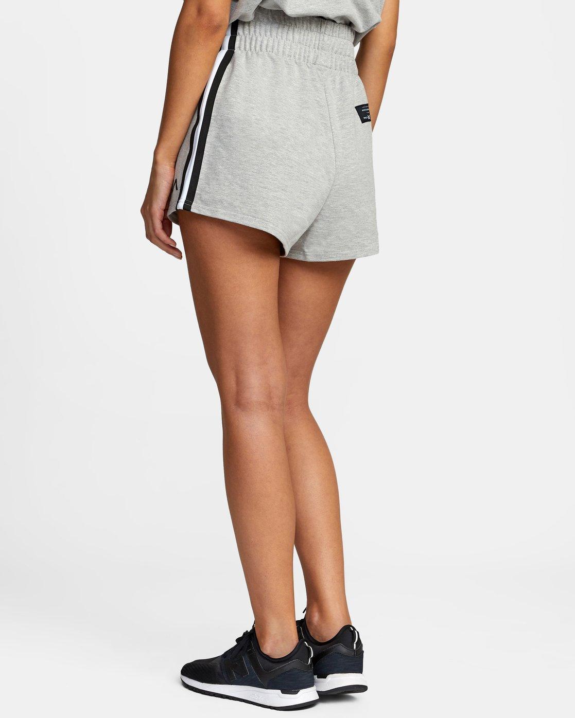 5 Everlast x RVCA - Sweat Shorts for Women Grey W4WKWBRVP1 RVCA