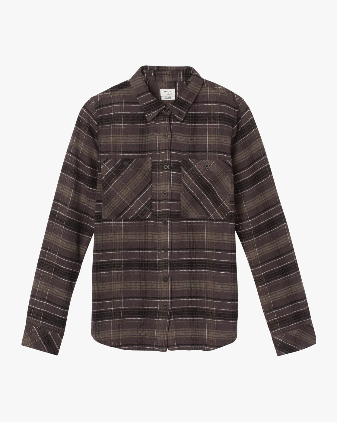 5 Roam Plaid Flannel Black W510SRRO RVCA