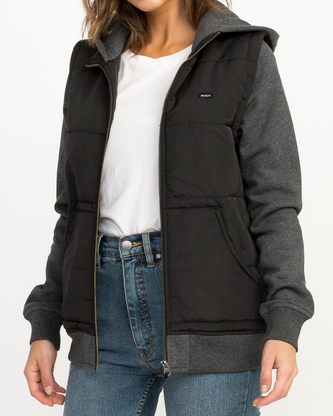 3 Eternal Quilted Fleece Jacket  W601QRET RVCA
