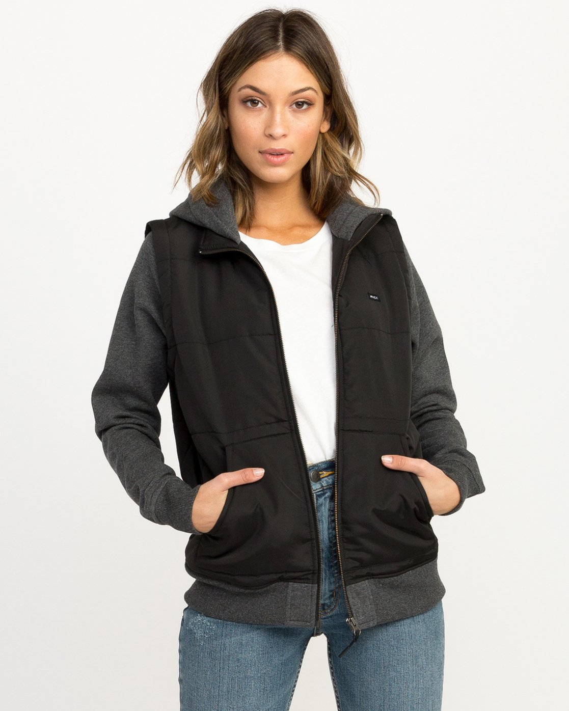0 Eternal Quilted Fleece Jacket  W601QRET RVCA