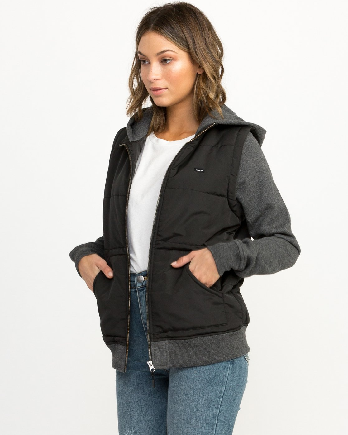 1 Eternal Quilted Fleece Jacket  W601QRET RVCA